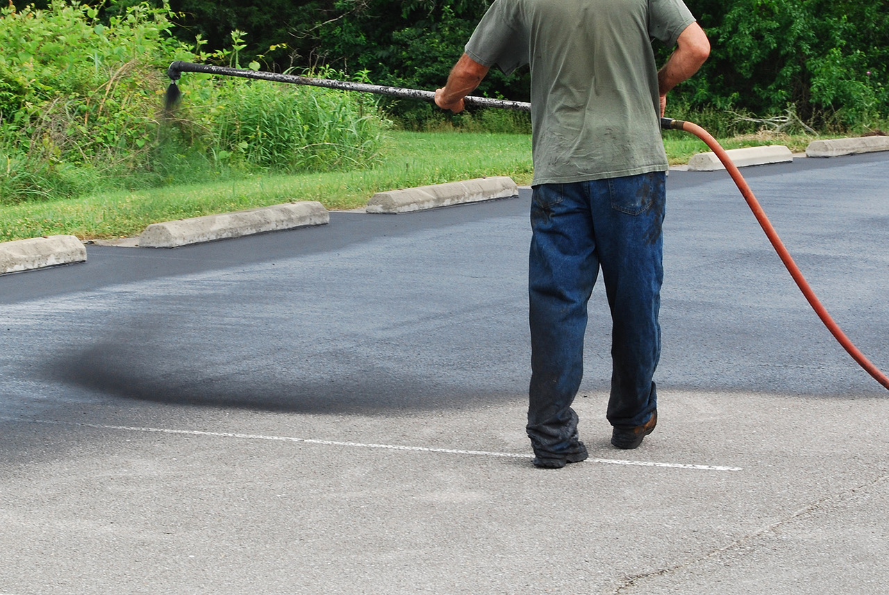 Asphalt Seal Coating - Asphalt sealcoating offers the following benefits: Substantial Extended Life, UV as well as Water Protection and Like-New Appearance.
