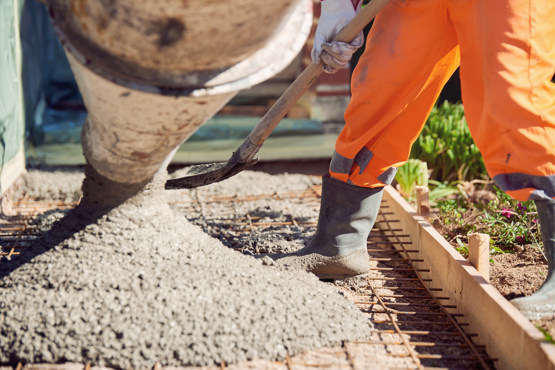 Concrete Work - Specializing in New Construction, Demolition and Replacement, Curb and Gutter, Sidewalks, Slabs, Foundations, and Decorative Concrete.