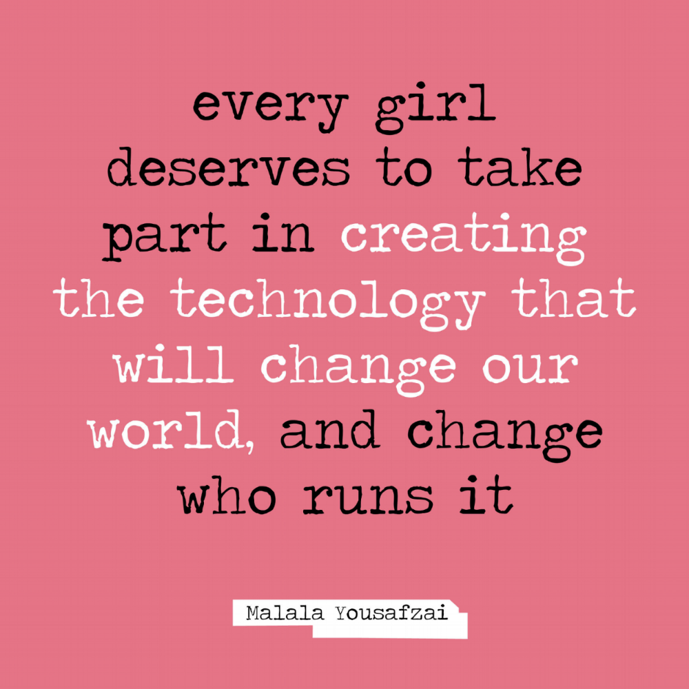 DONATE NOW! - Do you want to support young girls and allow them to discover the magic of technology? Allow them to learn more about entrepreneurship? Inspire them to think big? Please click on donate* now, your support could change their life!
