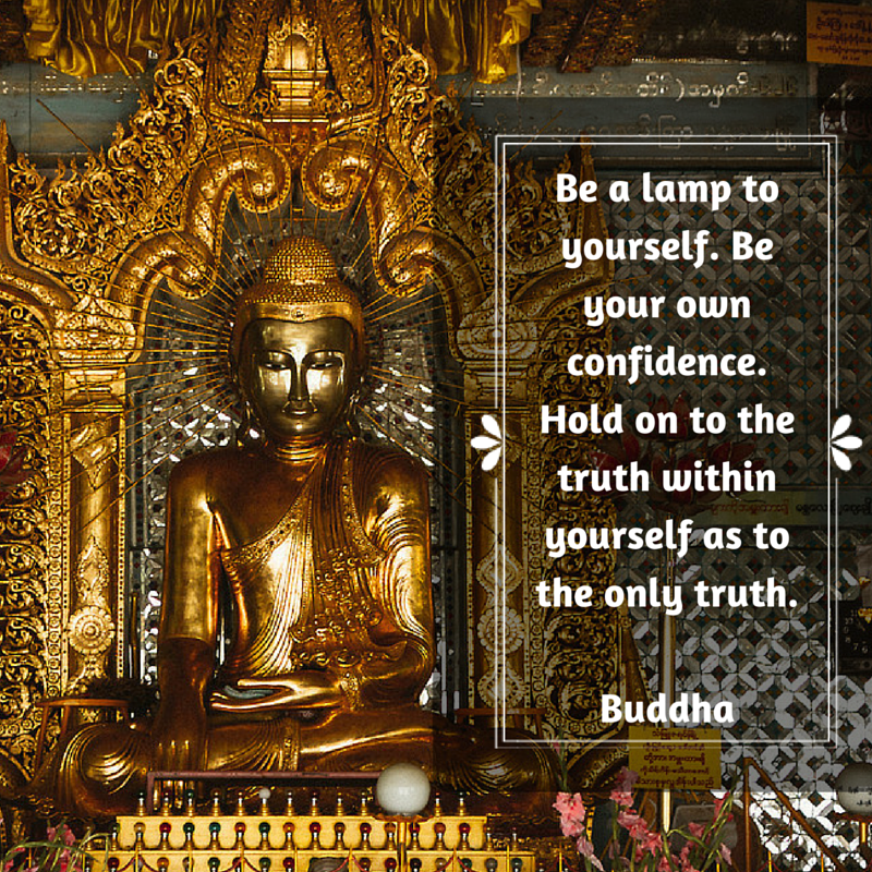 Be a lamp to yourself  Buddha.png