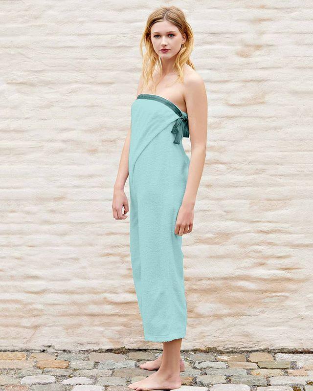 A real favorite ❤️😍👌 #jumpsuit #aqua #color #terry #wrapdesign #fashion #style #favorite #destinationwear #akouris