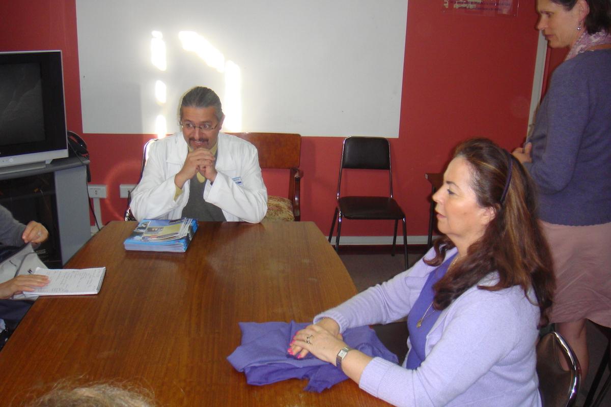 hopital de chillan reunion avec le directeur dr..JPG