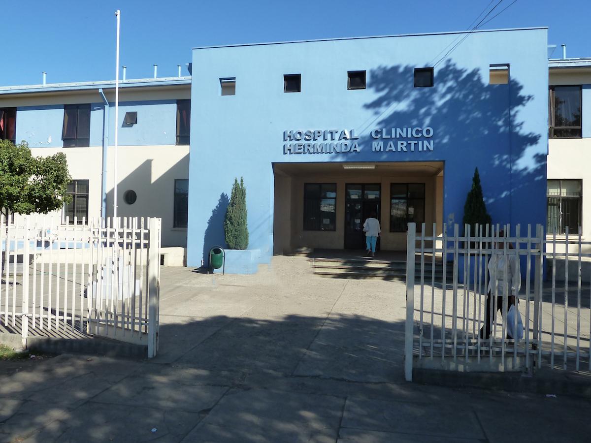 Hopital de Chillan – Département pédiatrique enfants déficients mentaux, Chili 2010 - L'hopital Herminda Martin se trouve à Chillan, à 500km au sud de Santiago, dans une zone agricole importante habitée par une population pauvre et modeste.