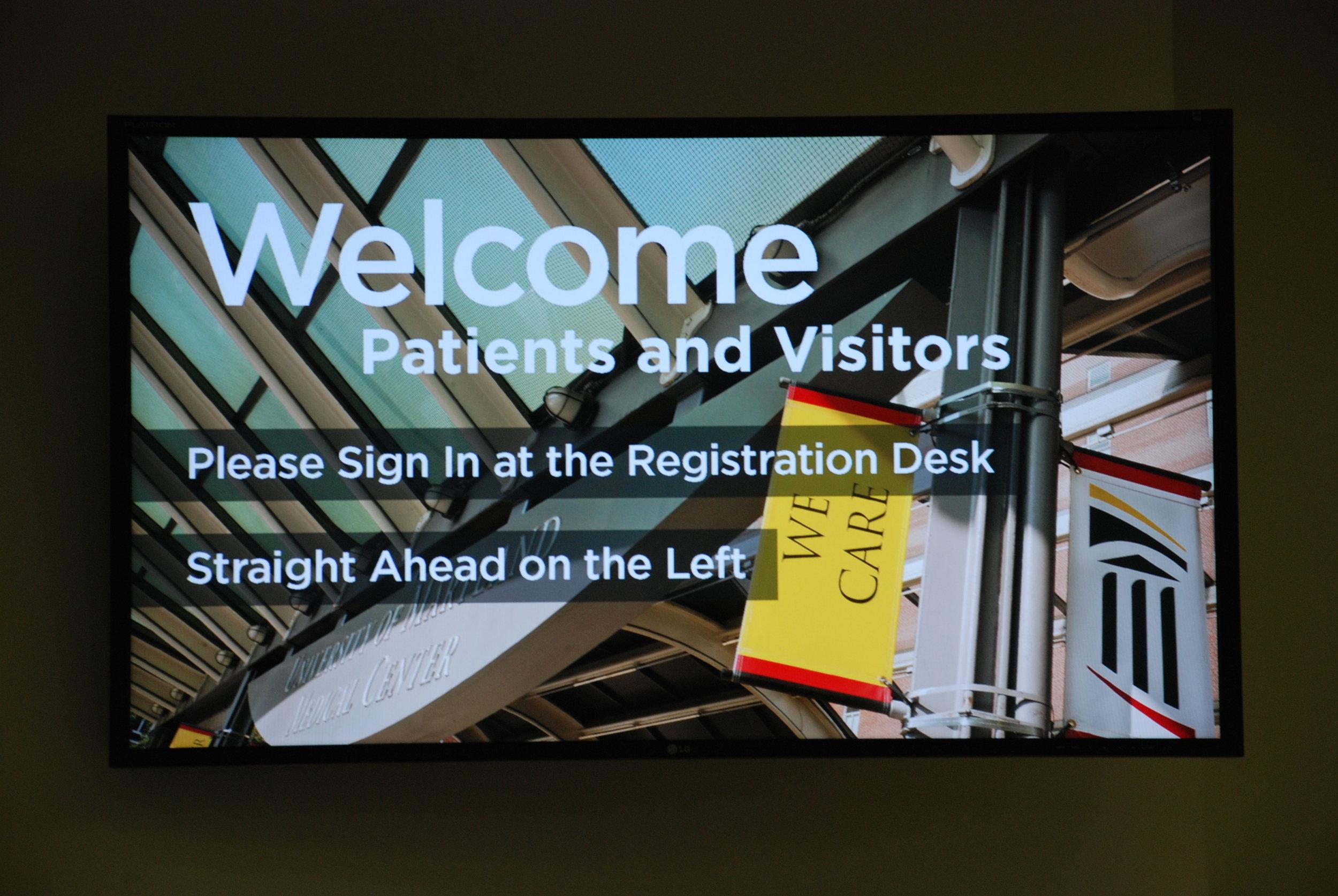 ummc digital signage install 8-2011 (19).jpg