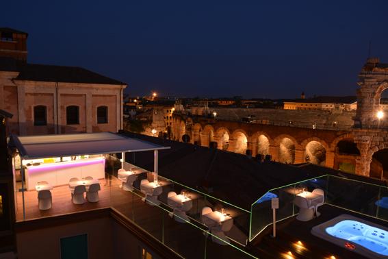 Terrazza Arena Sky Lounge Bar Restaurant Hotels 2 Go