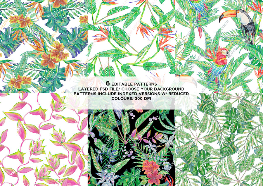 Tropical-kit-bouquets-display-patterns.jpg