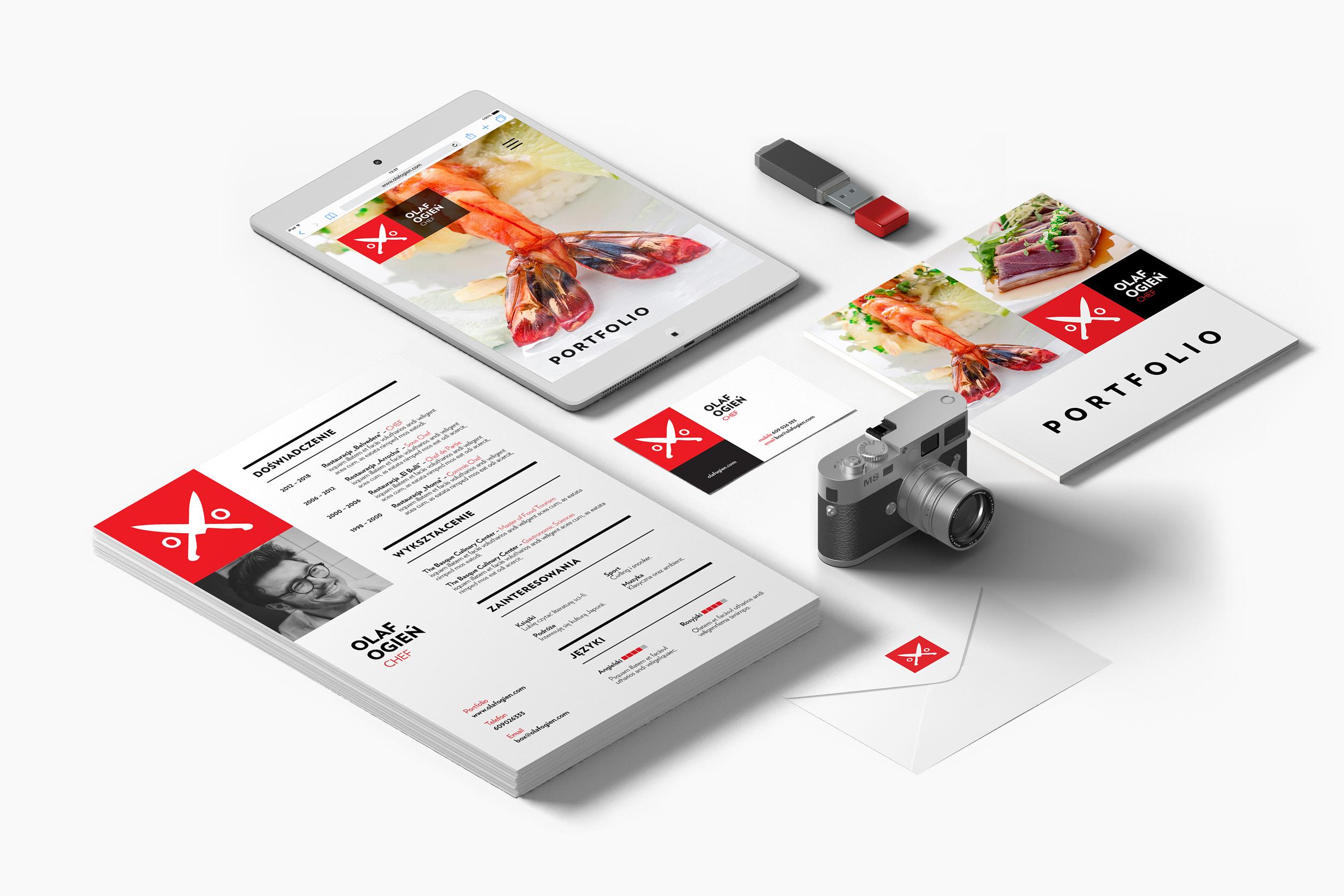 Pakiet chef - Chcesz mieć piękne portfolio? Zainwestujw siebie!