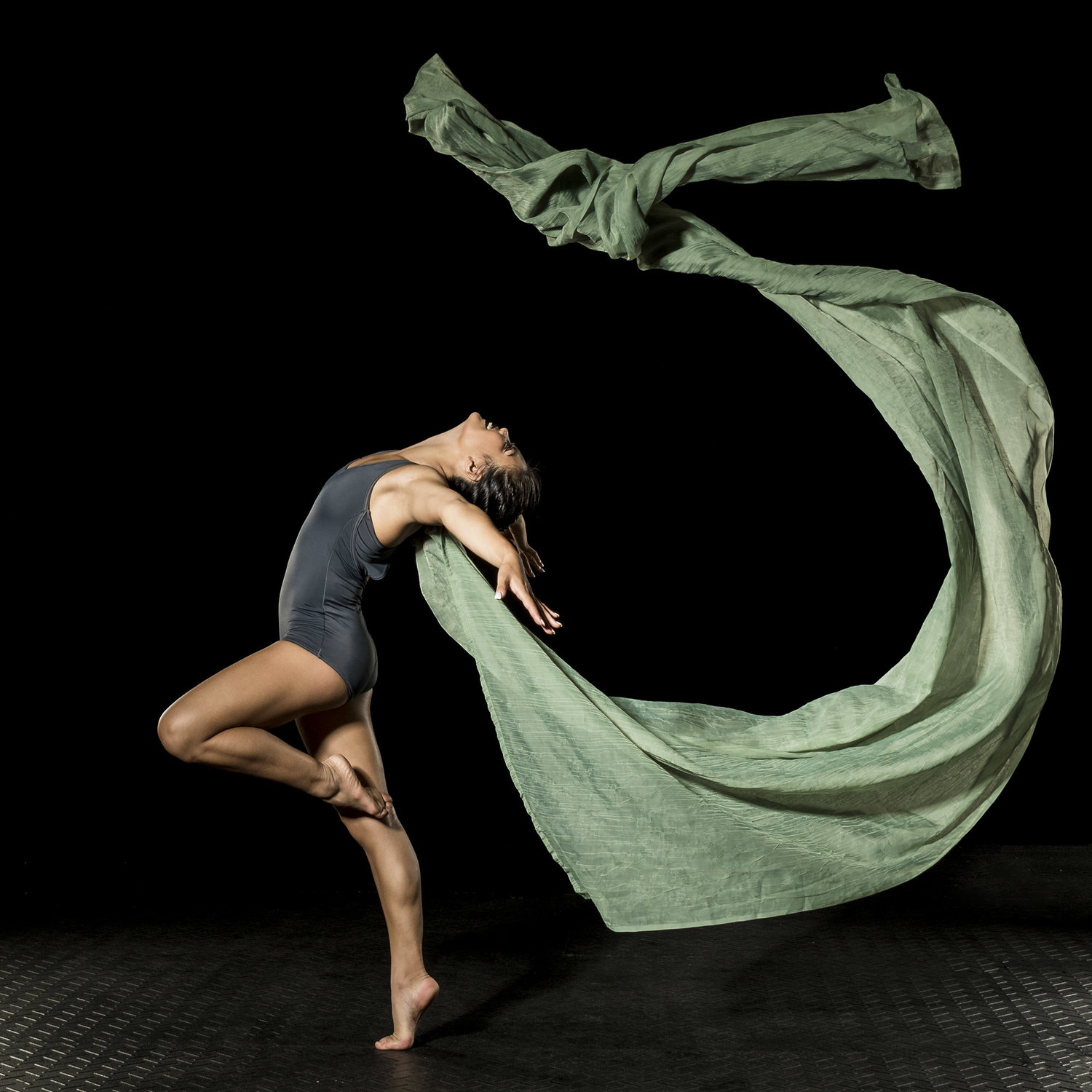 Dancing with fabric