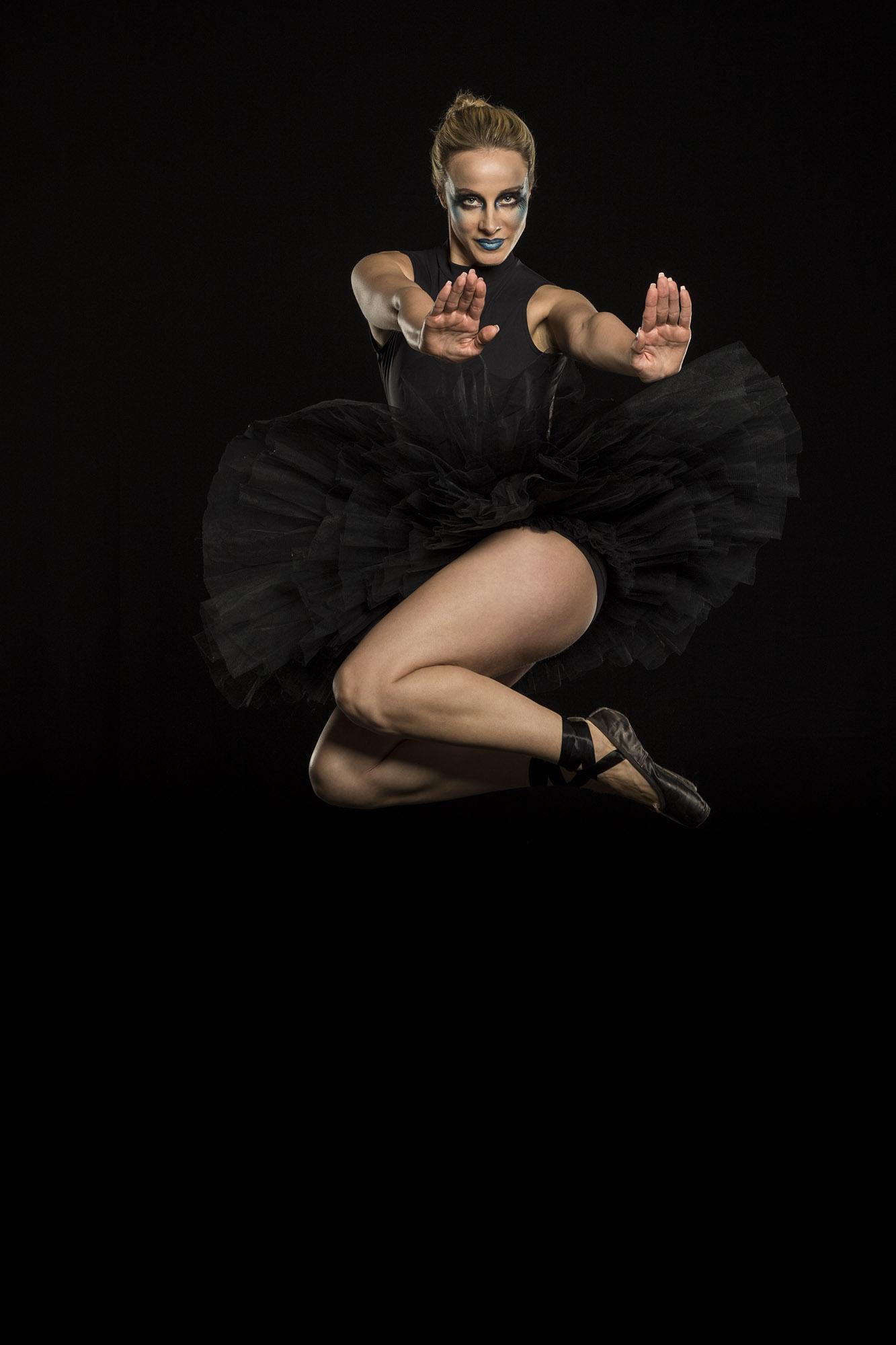 Erika jumping