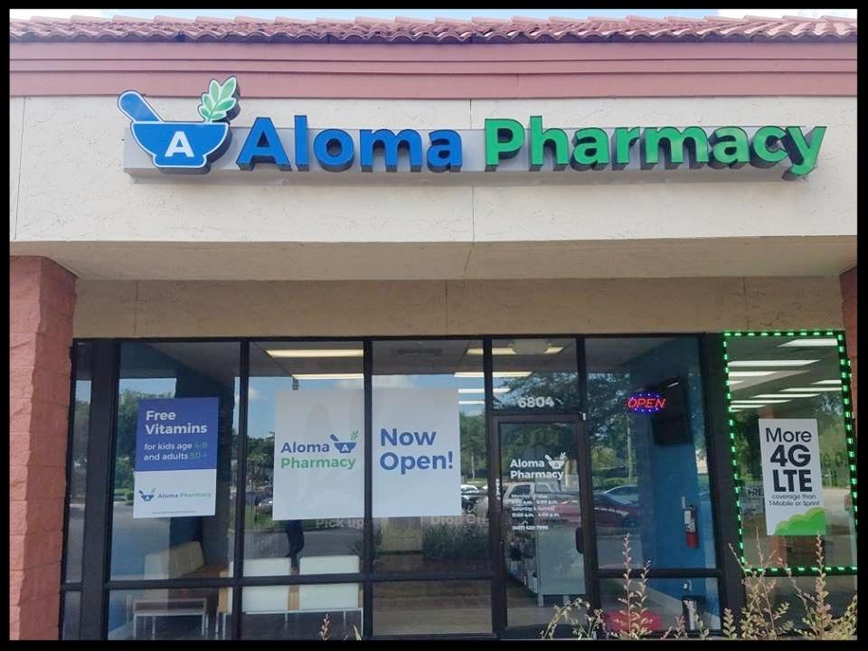 Aloma Pharmacy Storefront