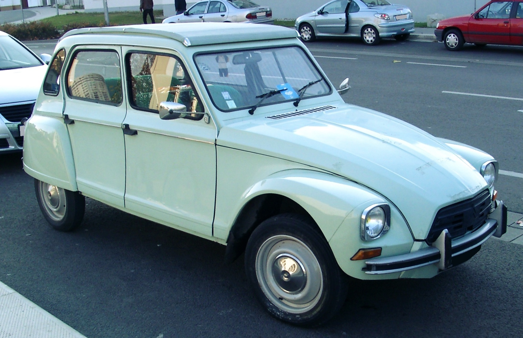The rather unsexy Citroen Dyane.