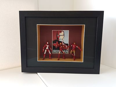 framed iron man