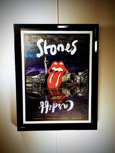 rolling stones musical memorabilia