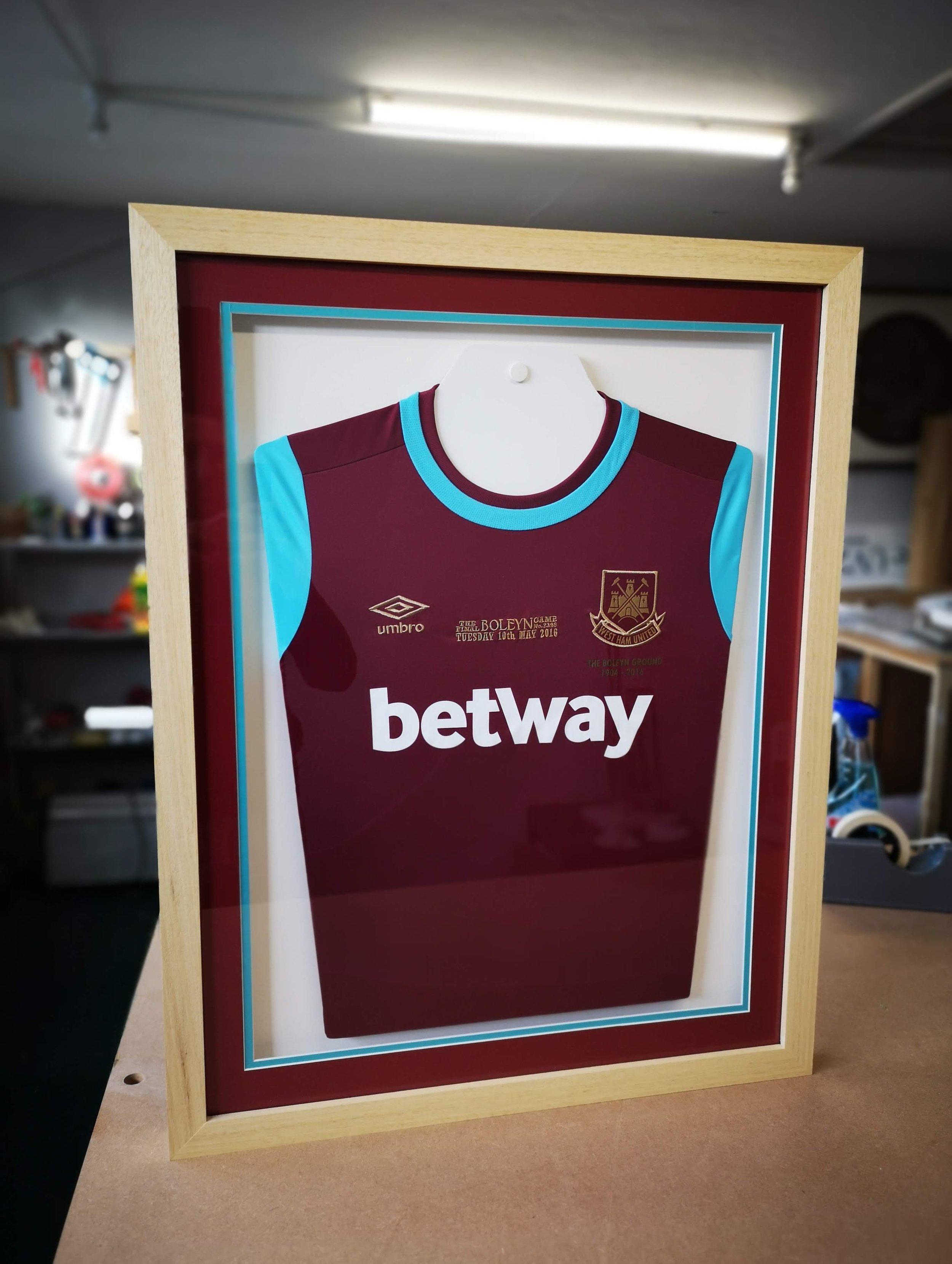 west ham football club betway shirt