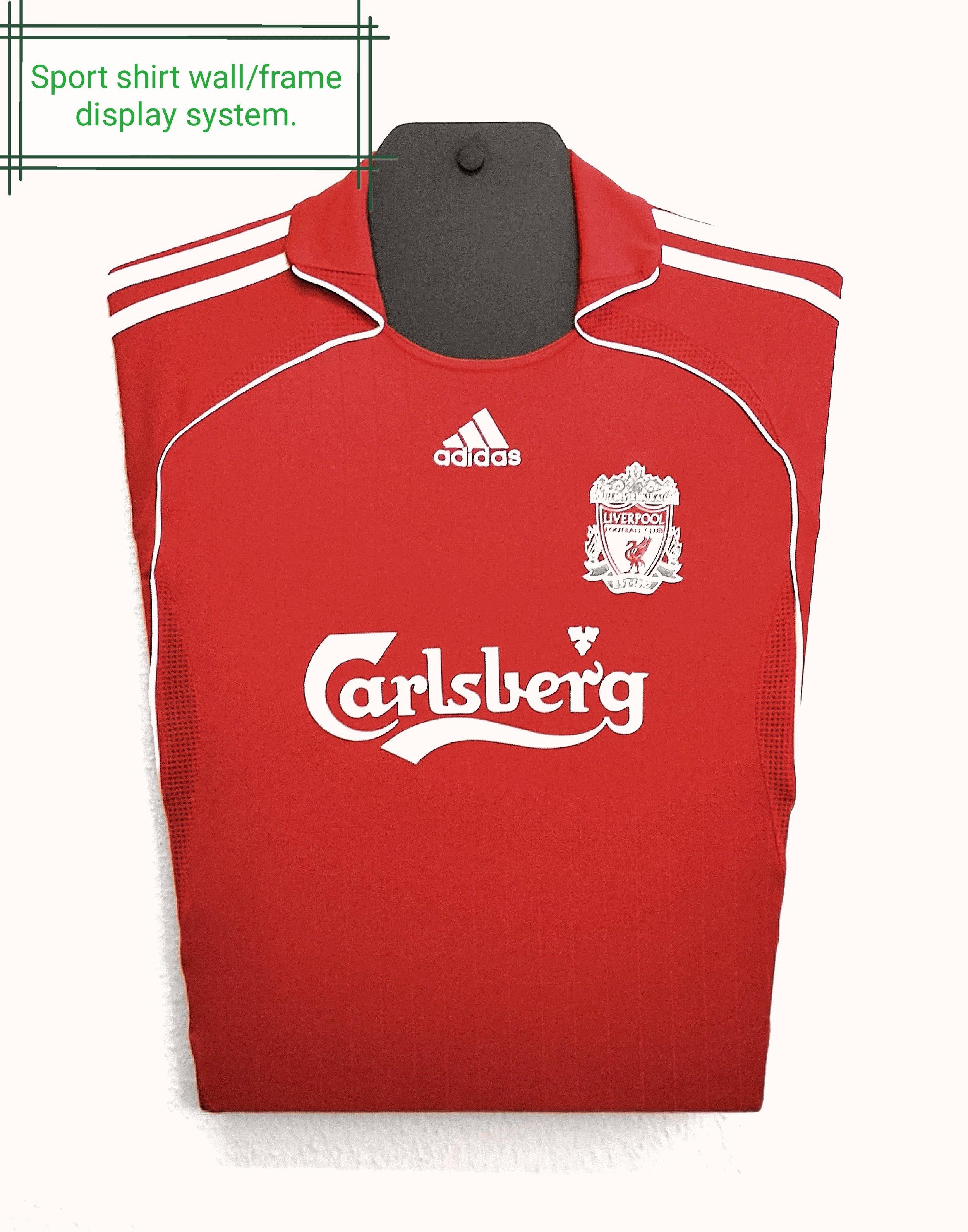 liverpool football shirt carlsberg
