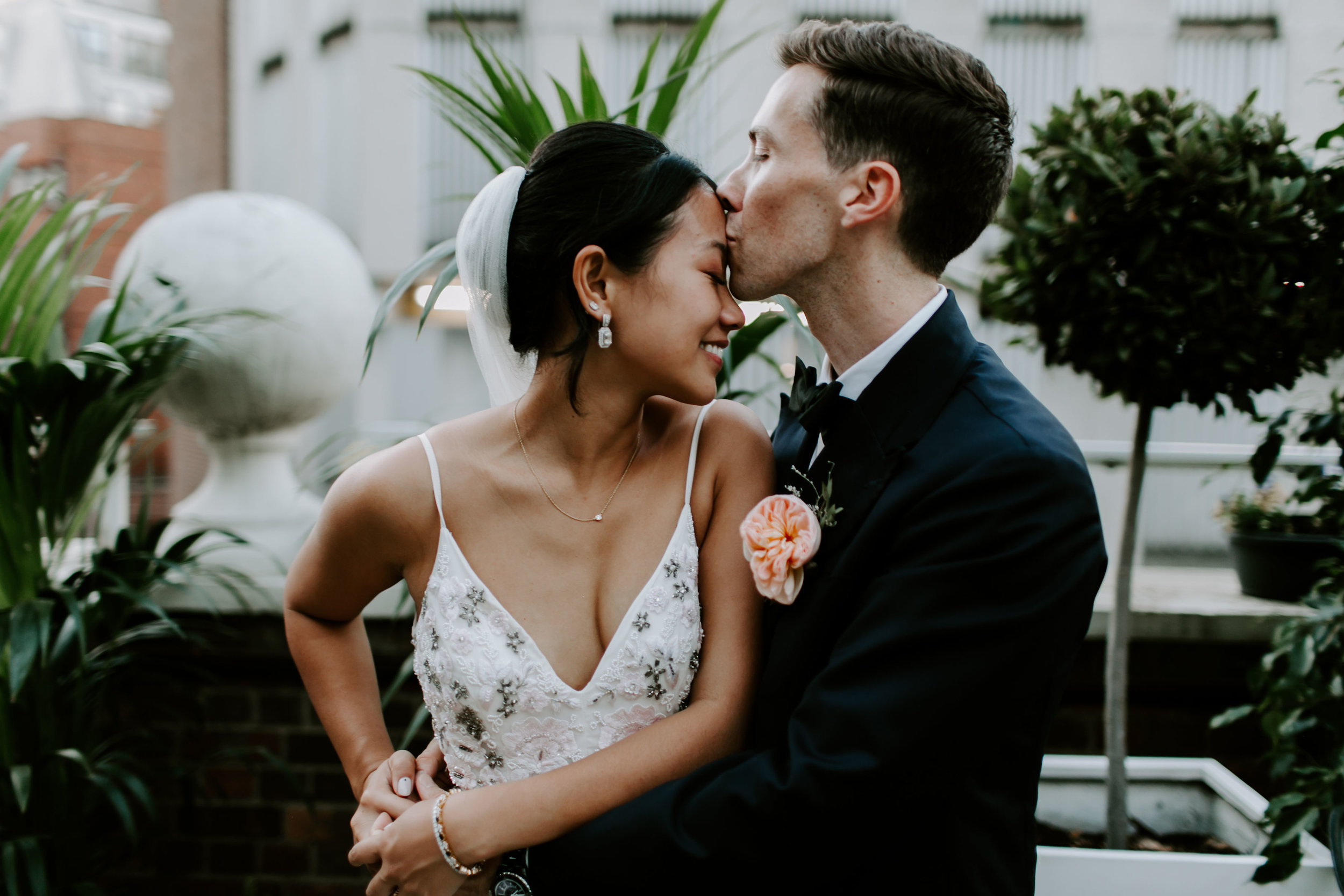 townhouse wedding, London -