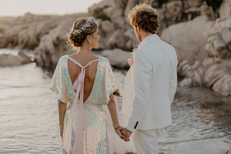 BEACH  Wedding, CORSICA  -