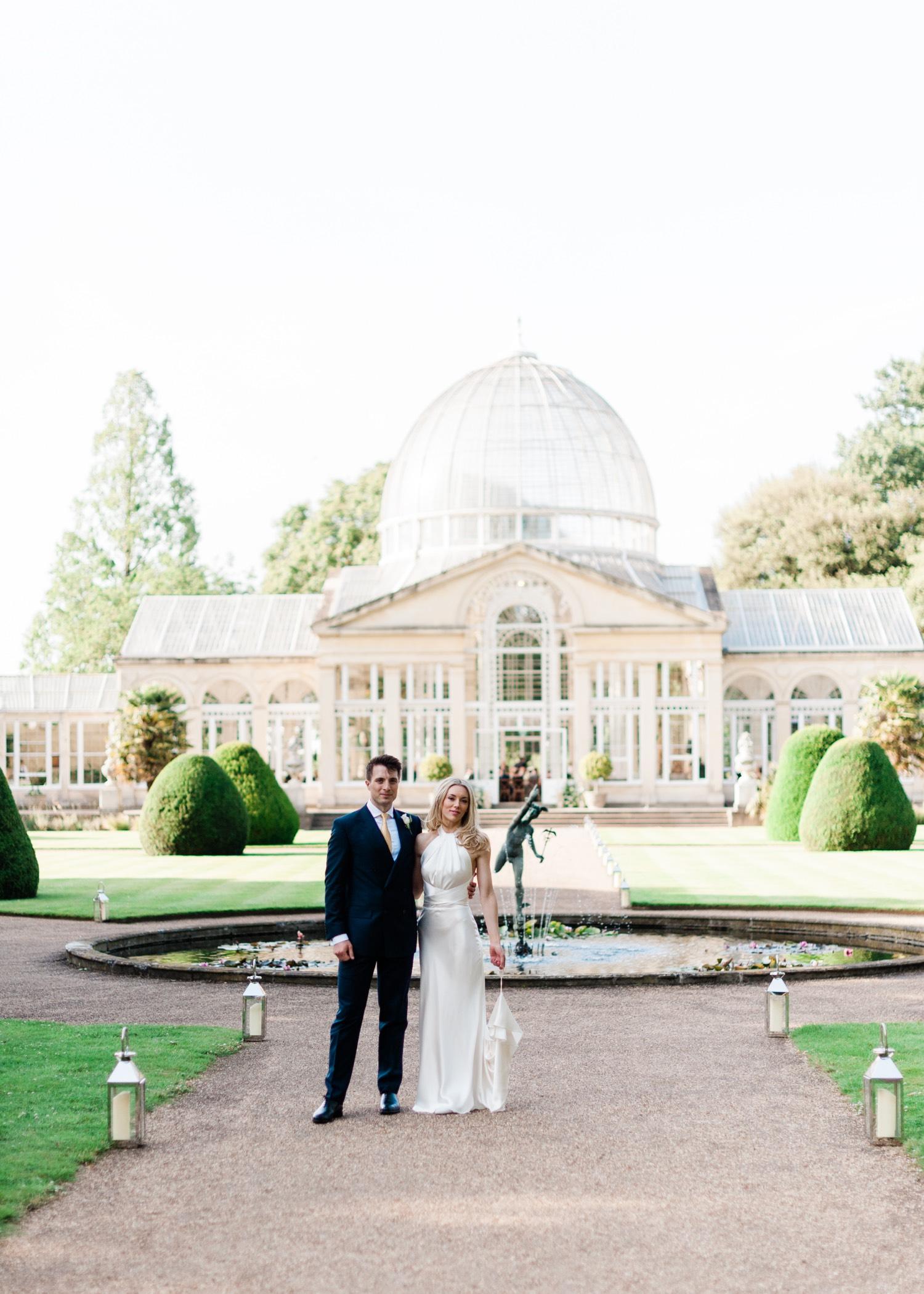 Littleton-Rose-Syon-House-London-Wedding-Planner-Conservatory-Bride-and-Groom.jpg