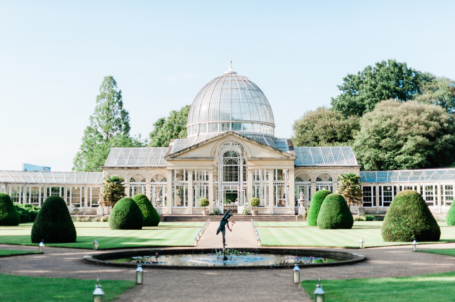 GLASSHOUSE wedding, Syon Park -
