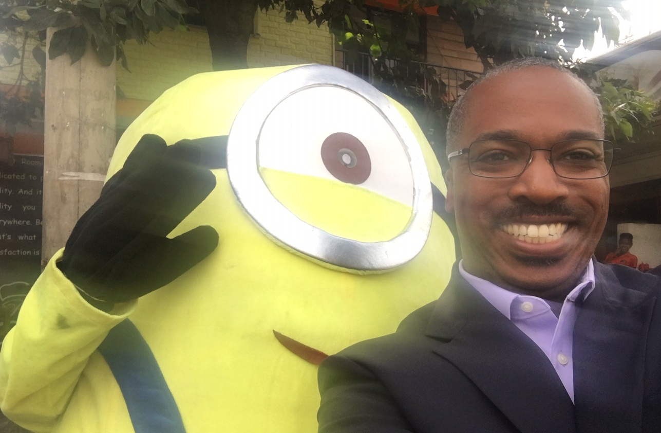 P..S. No trip to Addis is complete without a selfie with a Minion!
