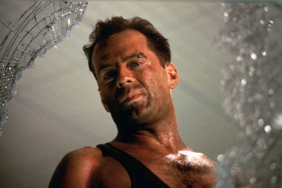 Die hard is totally a christmas movie because- hey, where are you going? -