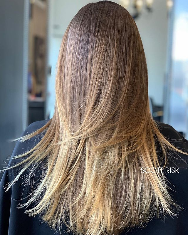 Soft Layered Blonde Balayage #longlayers #balayage #haircolor #hair #hairstyle #brazilianblowout #friscohairstylist #layeredhaircut #dallashair #dallashairstylist #haircut #blondehair #blondebalayage #hairbrained #behindthechair #modernsalon #hairstyles #haircolorist #hairdresser #hairdressermagic