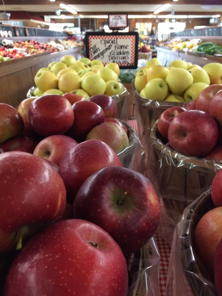 - Jersey grown apples