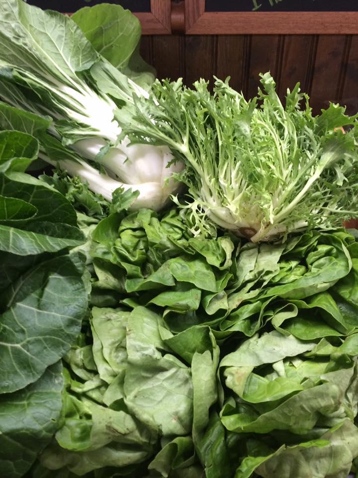 - fresh lettuce