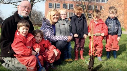 ERS Trees to Grow on Leeds University Campus