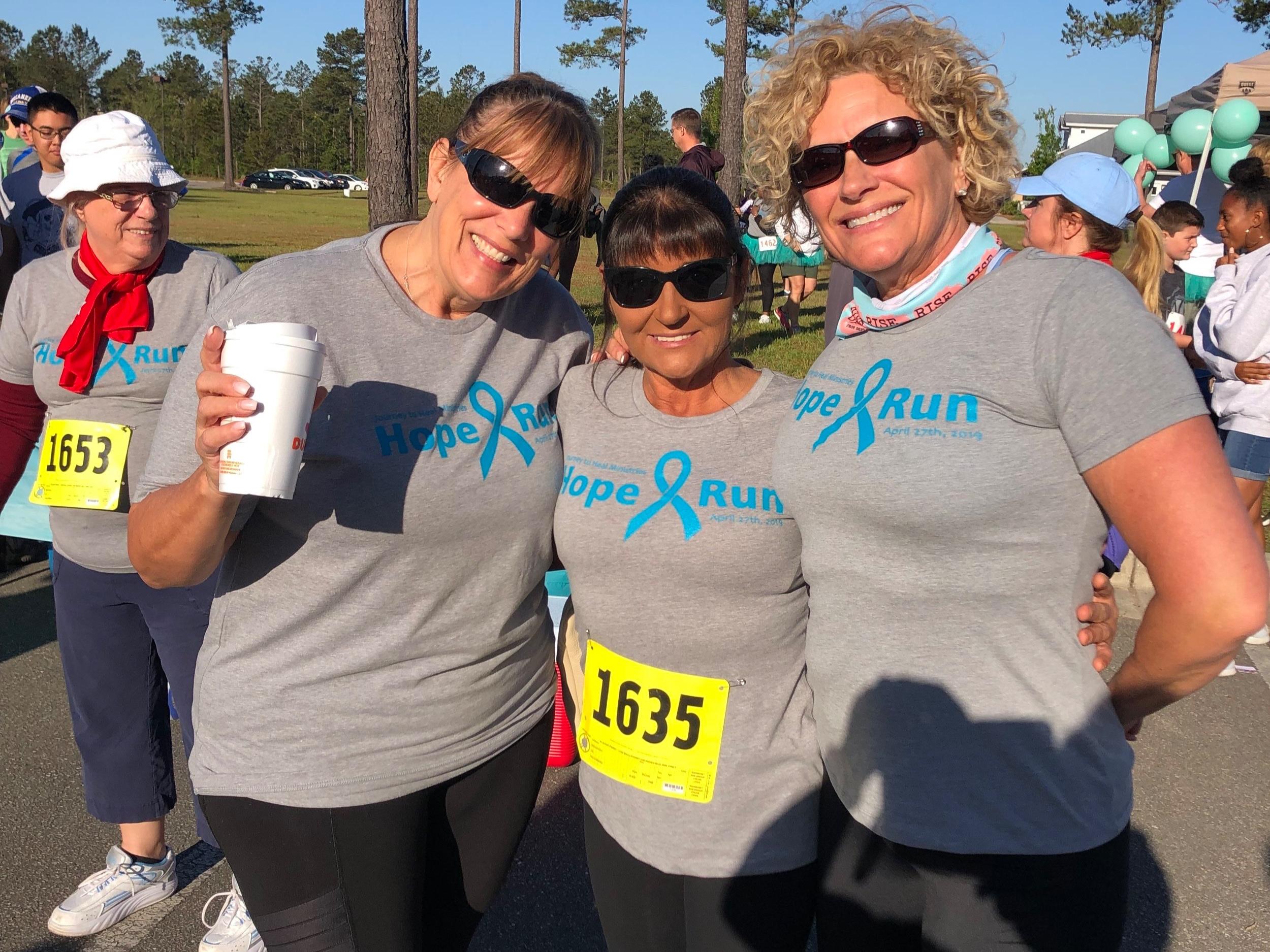 Pamela (Gold Sponsor), Kim, Dottie