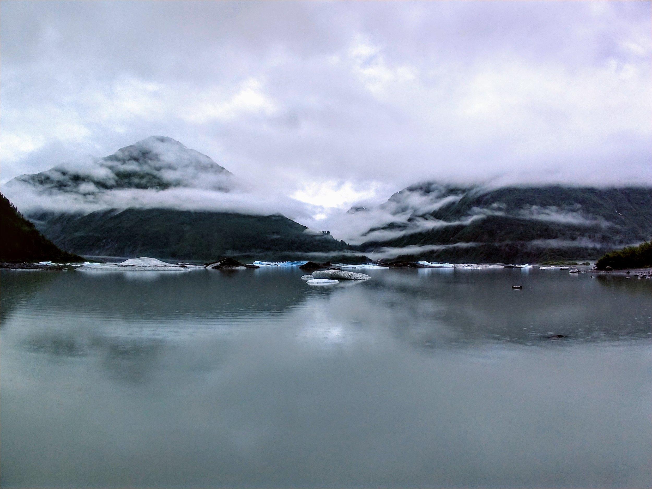 Our accomodations in Valdez - Glacier View Park, Valdez, AK.
