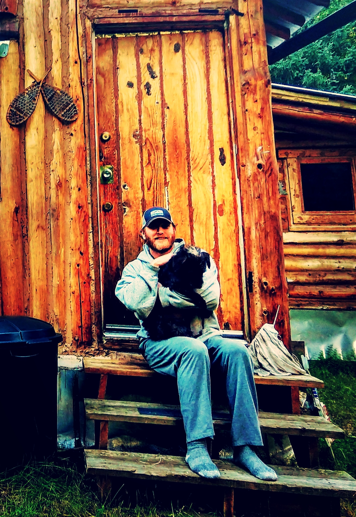 Our pal Nate at his home in Salcha, AK!