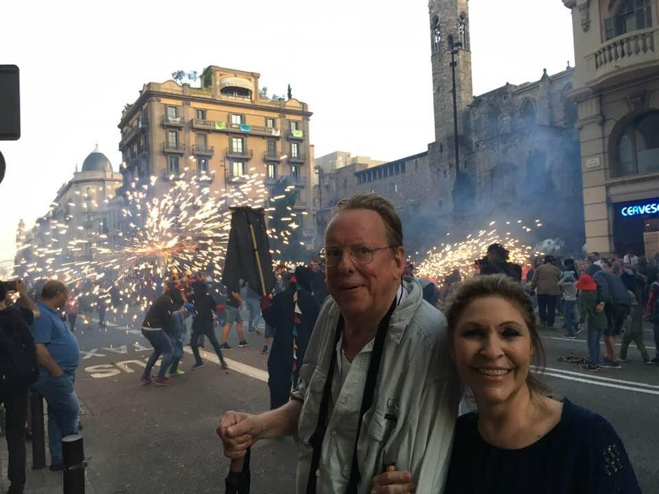 ERIK AND LALA - Celebrating in Barcelona