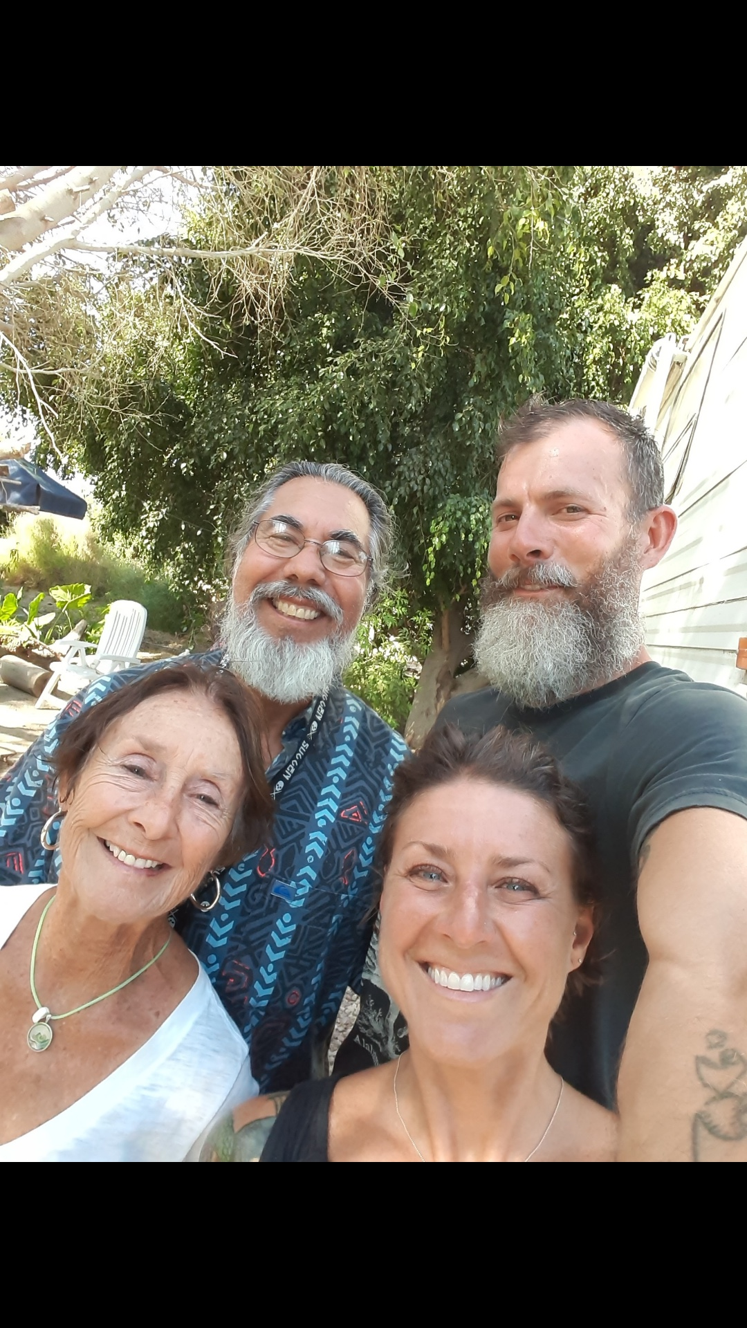 Our new friends from Oregon, Val and Claudia. They are retired Spanish teachers living in Grants Pass, OR. We met them in La Paz, and had a blast hanging out with them there and on the Pacific coast in the surfing town of El Pescadero.