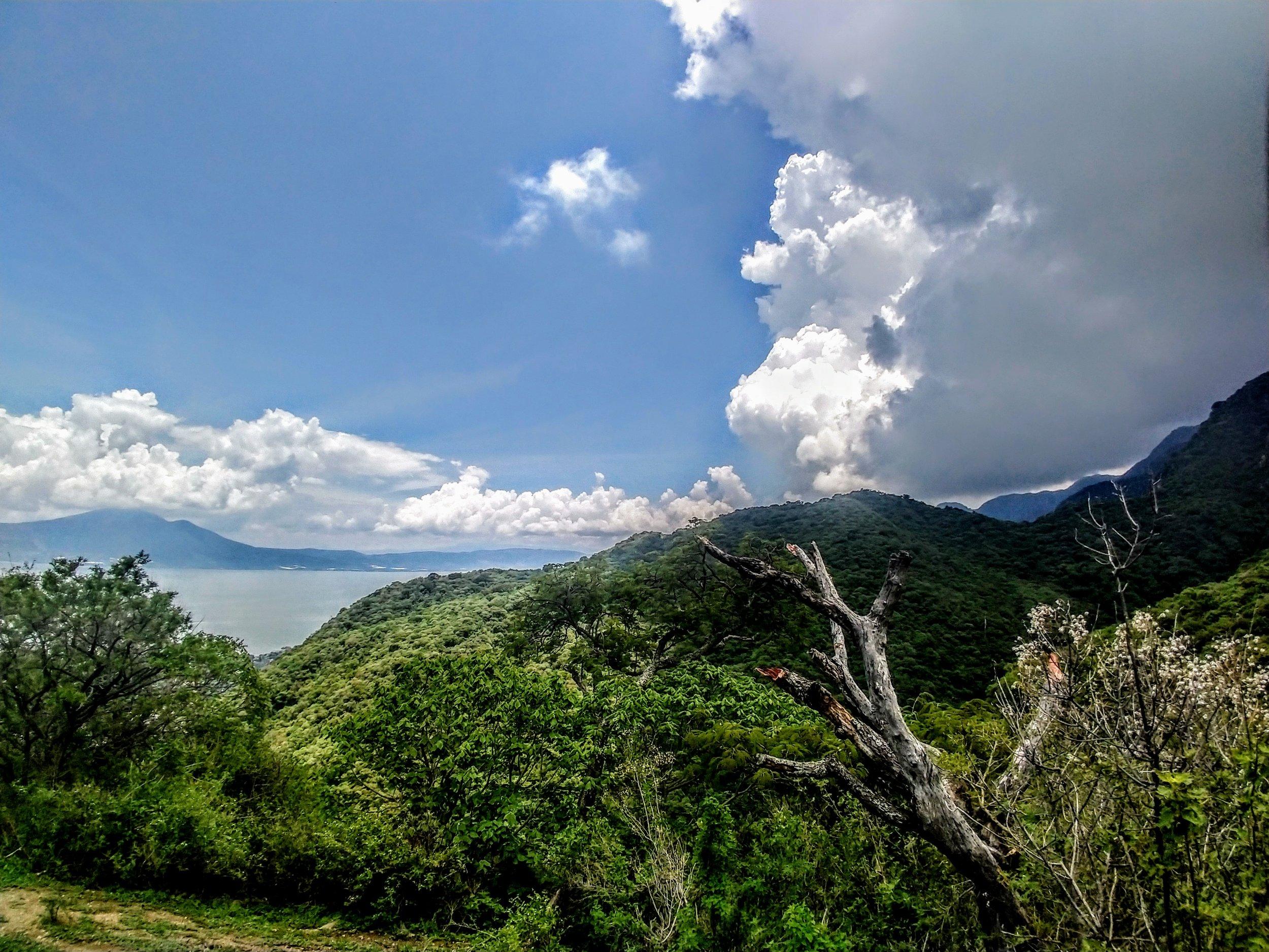 Overlooking Lake Chapala