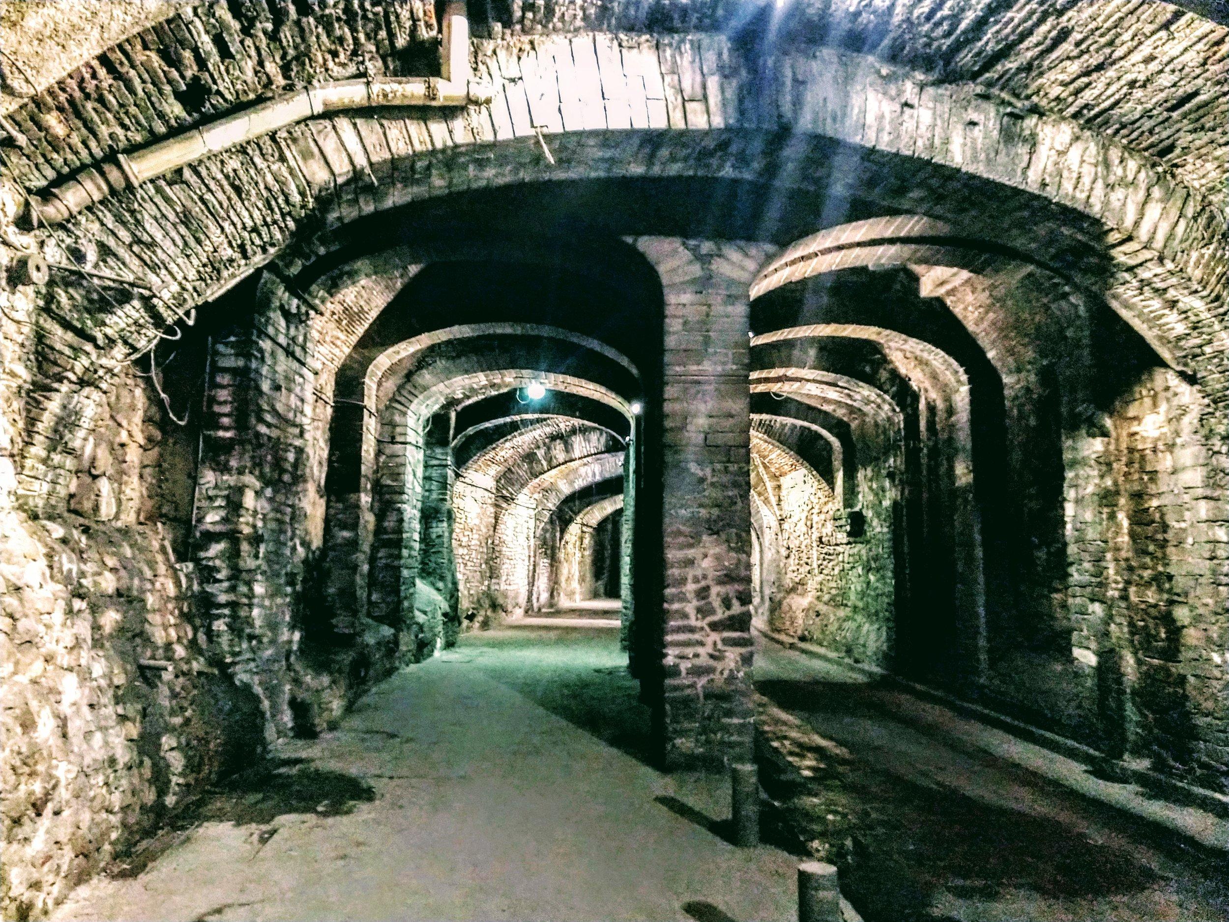 Tunnels underneath Guanajuato, Mexico