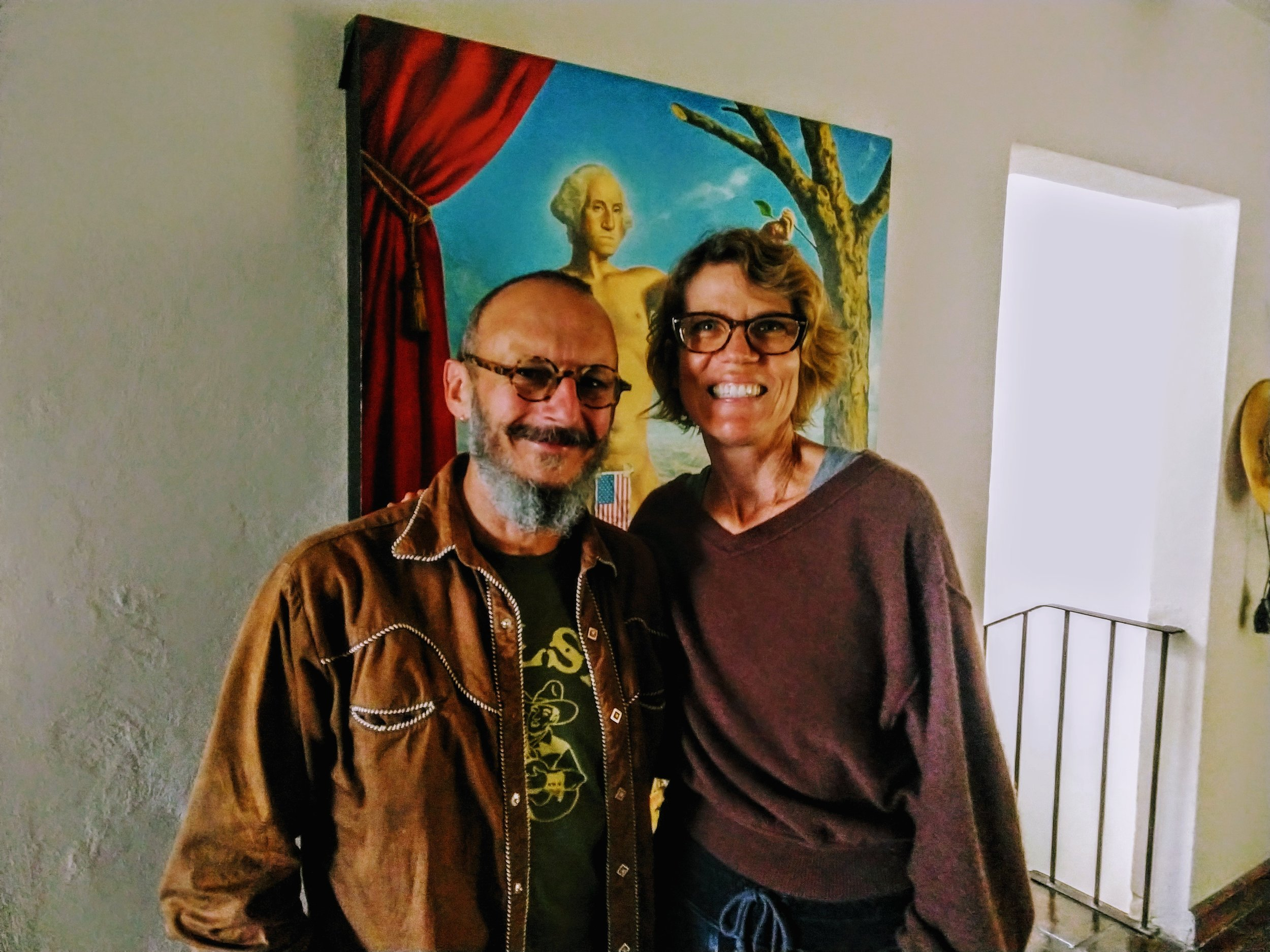 Dan and Christy Piraro…god bless America - San Miguel De Allende