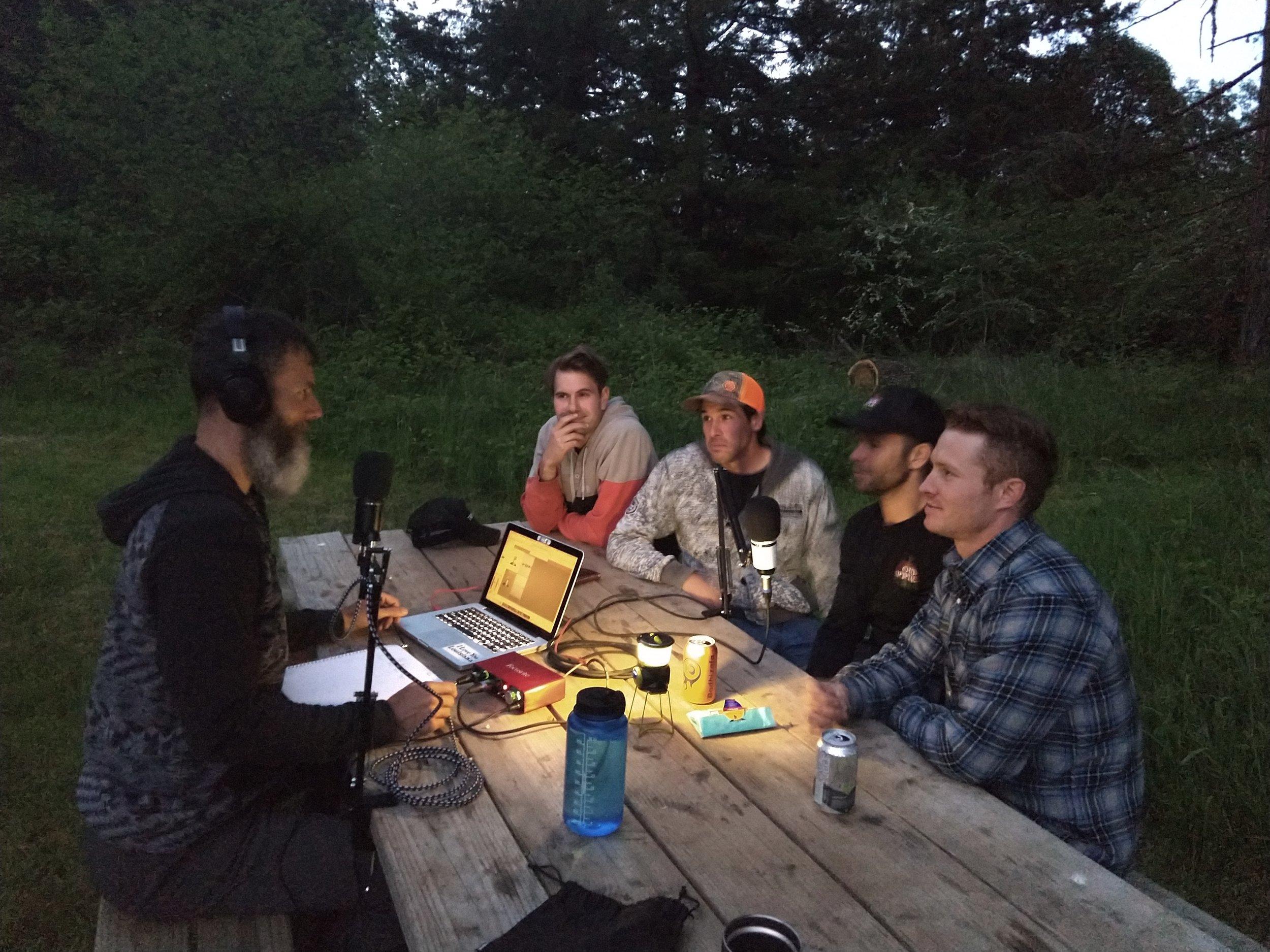 Old Apple Farm  - Dave, Gregg, Mike and Trevor