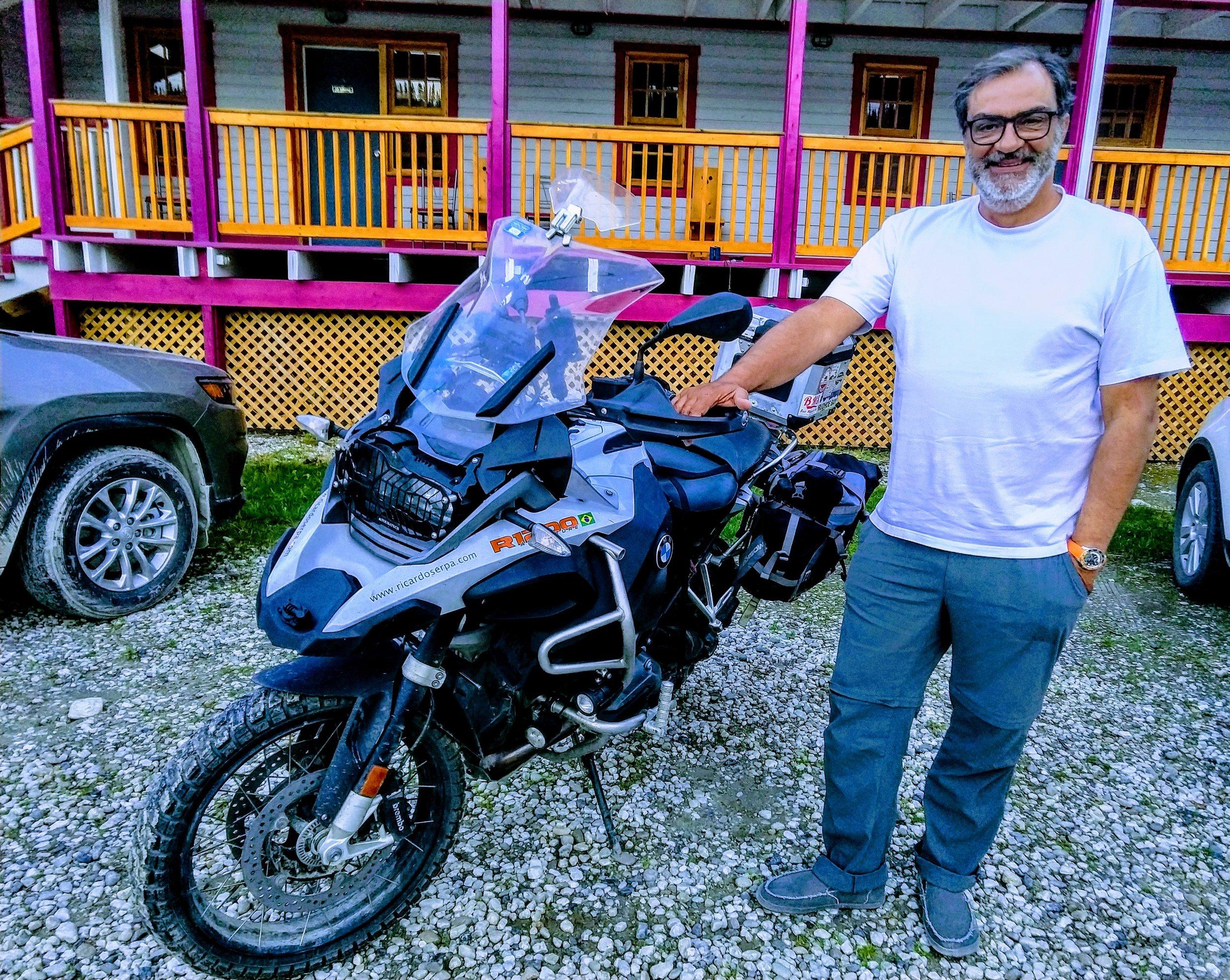 Our Pal for life,  Ricardo Serpa  in Dawson City, Yukon!