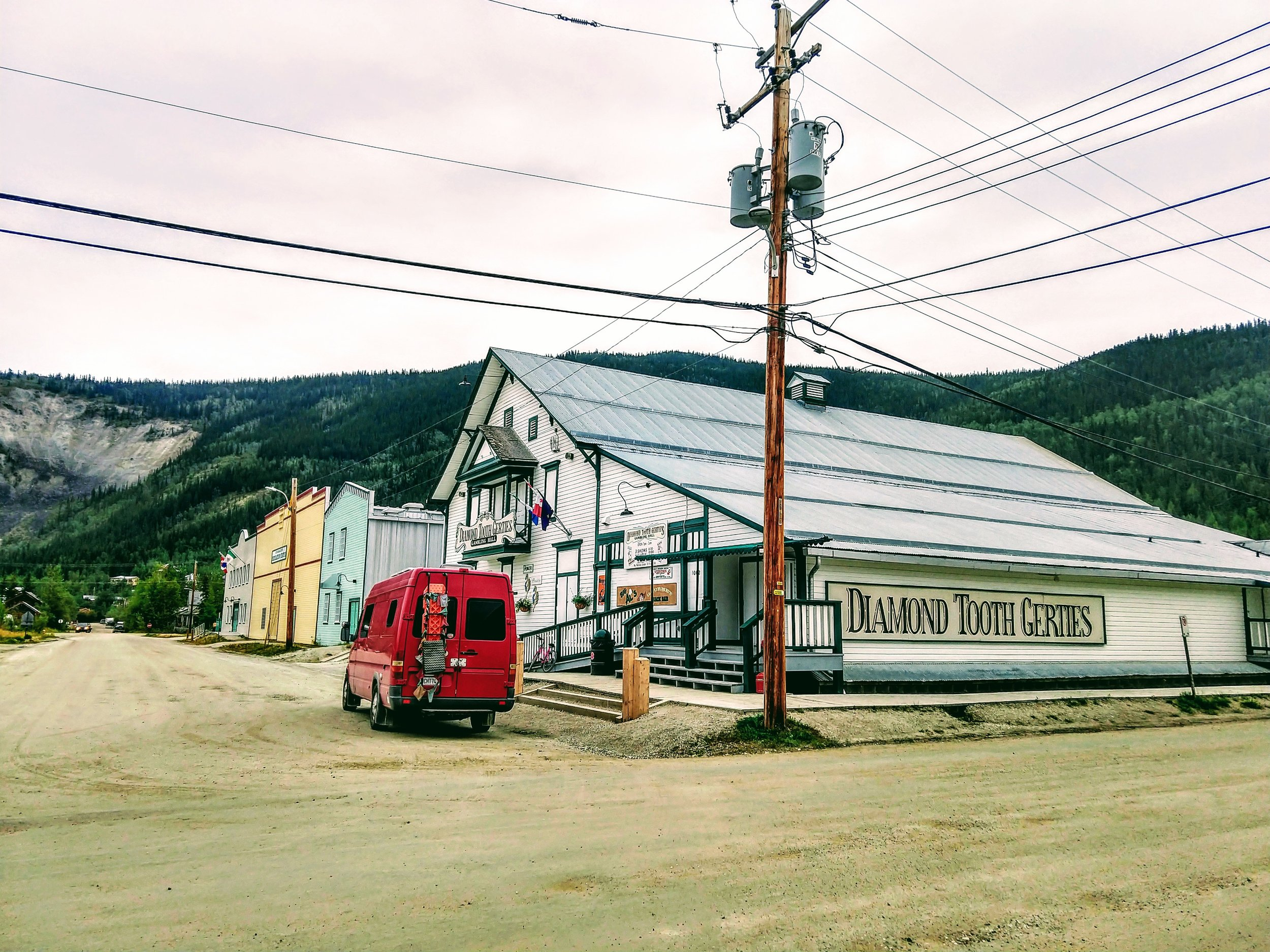 Dawson City, The crotchless panty of the Klondike!