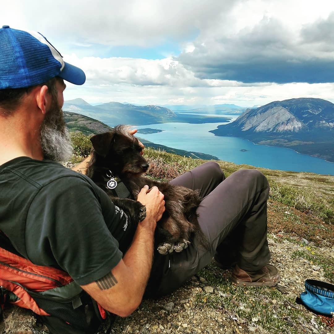 Top of the Sam McGee Trail, Yukon, Canada