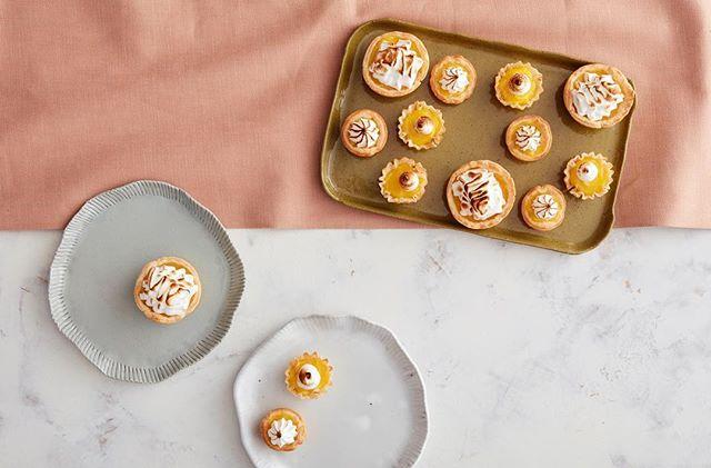 Sweet Sunday. Lemon meringue tarts with @dianabscanlon & @ryandyer hit the spot. 🍋 👌🏼✨