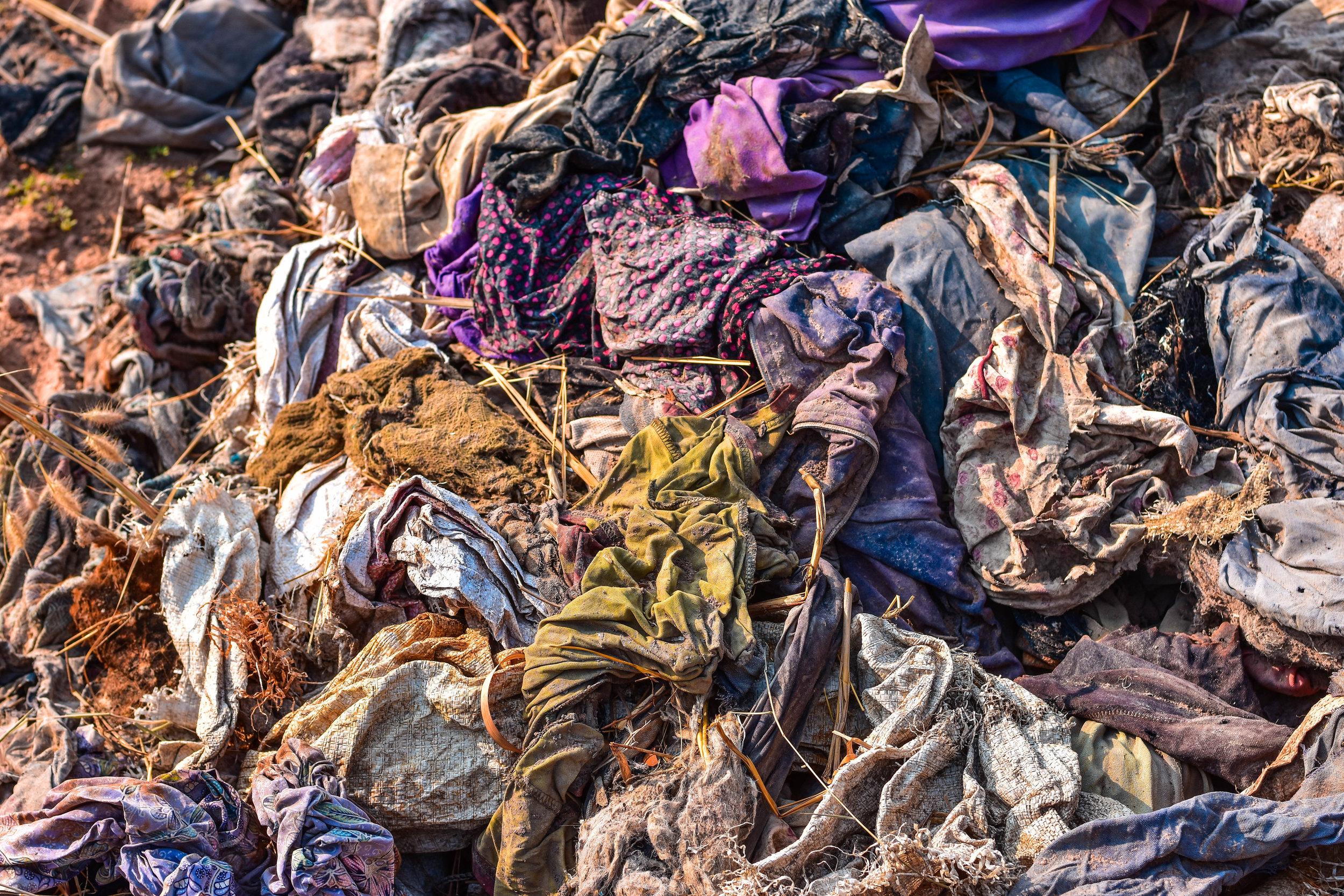 CSC Clothing Recycling Bins