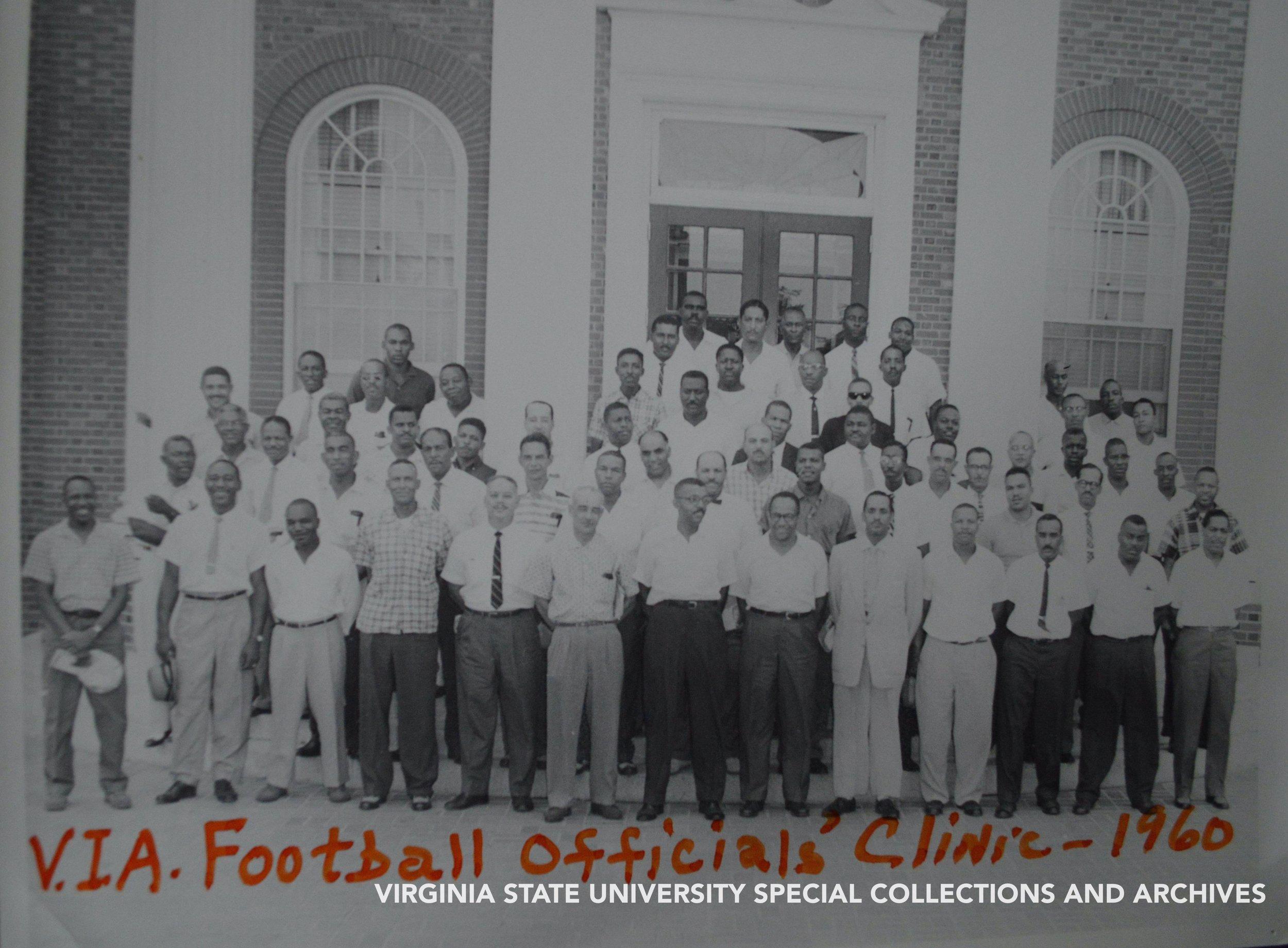 Football Clinic Officials, 1960
