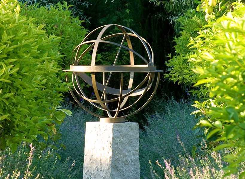 Sundial by artist David Harber