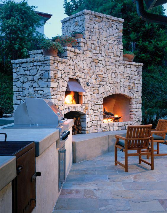Custom Built Kitchen - by EarthStone Ovens