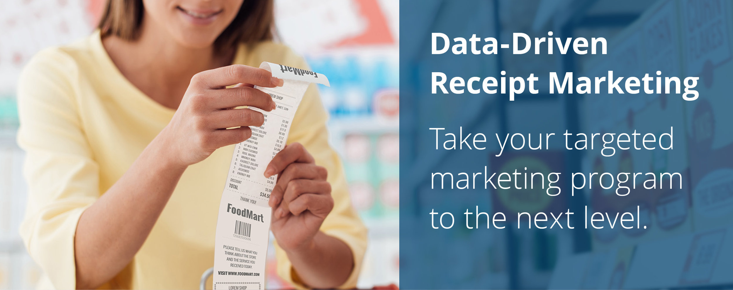 Data-Driven Receipt Marketing