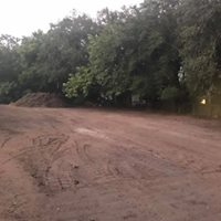 raw land prepped for new townhouse  -