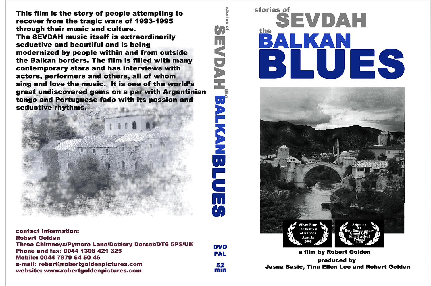 - STORIES OF SEVDAH - THE BOSNIAN BLUES is a highly emotional film about the Bosnian music called Sevdah (which means 'love' in Turkish). It tells the story of how, after the Bosnian War of 1992-1995 and the tragic genocide in Srebrenica (July 1995) exponents of this poetic music held onto it, sang, played and performed it, to make sense of their culture and the world that had created the horror of the war. You can see the trailer here, and the film soon to be uploaded here as well.