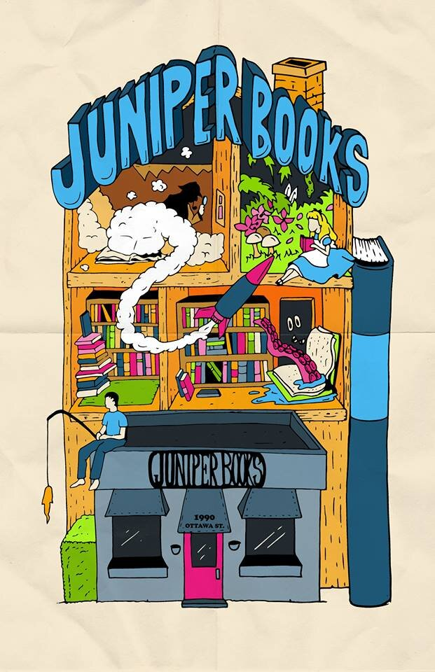 Meet Our Sponsors Juniper Used and Rare Books - 1990 Ottawa StreetWindsor ON N8Y 1R7519-258-4111